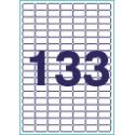 Этикетки 28х15 (133) А4 100 листов