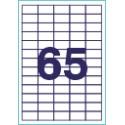Этикетки 38.1х21.2(65) А-4 100 листов