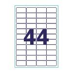 Этикетки 48 5х25 4 А4 50 листов/100 листов