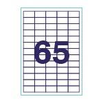 Этикетки 38 1х21 2(65) А-4 50 листов/100 листов