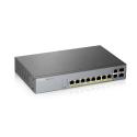 L2 комутатор PoE+ для IP відеокамер,PoE 130 Вт GS1350-12HP-EU0101F