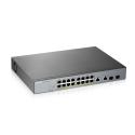 L2 комутатор PoE+ для IP відеокамер,PoE 250 Вт GS1350-18HP-EU0101F