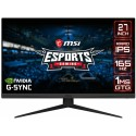 "Монитор LCD 27"" MSI Optix G273QF, 2xHDMI, DP, IPS, 2560x1440, 165Hz, 1ms, DCI-P3 93%, G-sync"