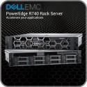 Сервер Dell EMC R740, 8LFF, noCPU, noRAM, noHDD, H740P, iDRAC9 Ent, 2x10Gb BT, RPS 750W, 3Yr PS